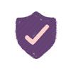 [home] Ícones - Loja **protegida** por um sistema de **proteção de dados** com segurança **SSL**