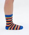 Meia Rainbow Stripes