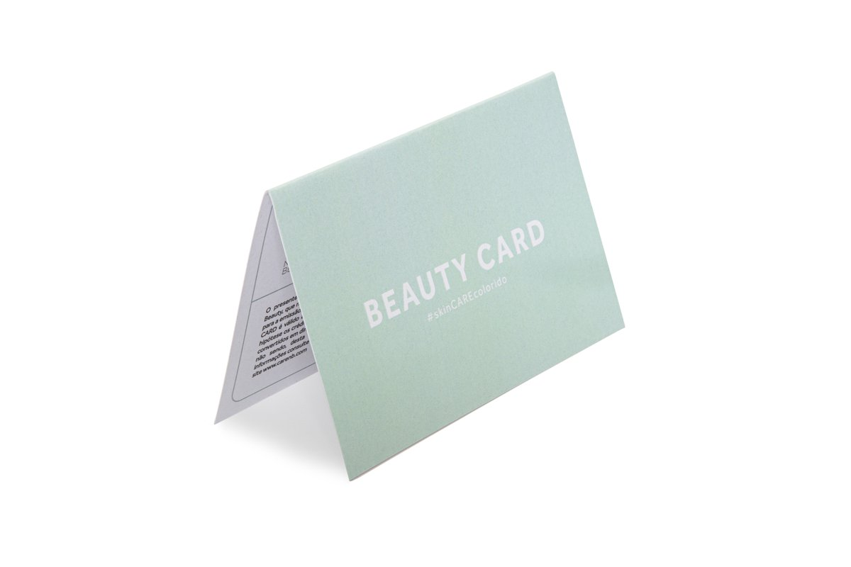 Beauty Card R$ 250,00