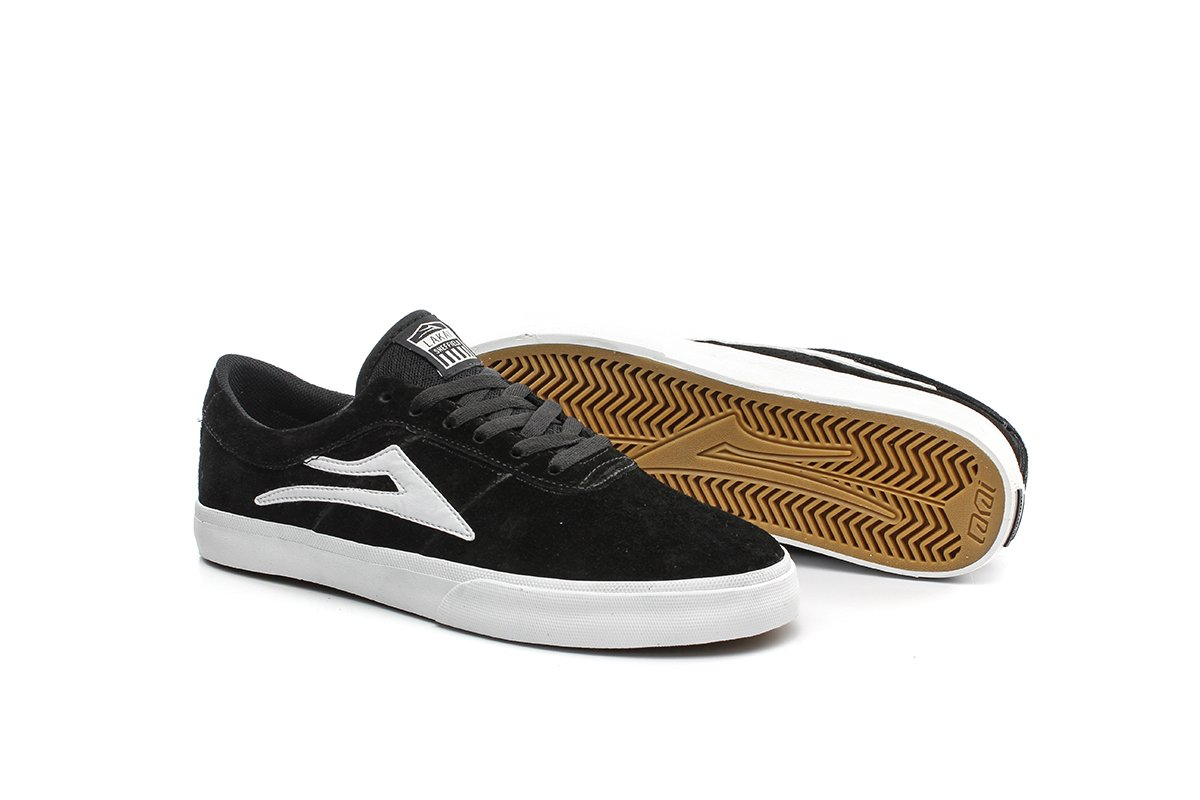 TÊNIS LAKAI SHEFFIELD SD BLACK/WHITE