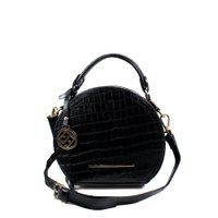 Bolsa Cristofoli Cross Body Preto