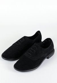 VICTORIA oxford - camurça black
