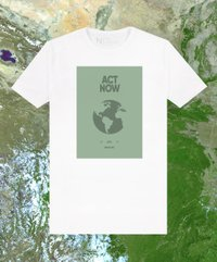 Camiseta Masculina Earth Day Act