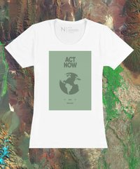Camiseta Feminina Earth Day Act
