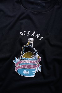 CAMISETA ECO OCEANO SAVE RECICLE
