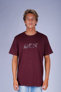 CAMISETA TROPICAL LOGO OCN CONFORTO PREMIUM AROMA HERBAL