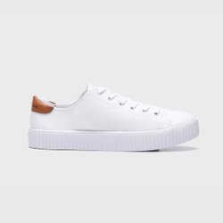 Tênis Vegano Feminino Aragäna Cloud All White