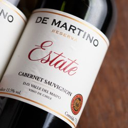 De Martino Cabernet Sauvignon Estate Reserva 2018 (750ml)