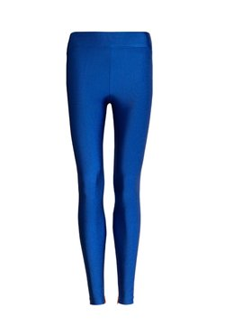 Legging Lycra Zíper Denim