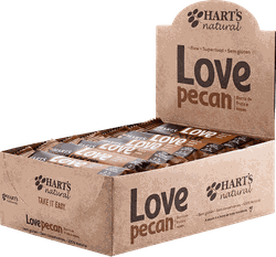 Display de Barra de Fruta Love Pecan