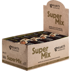 Display de Barra de Cereal Super Mix