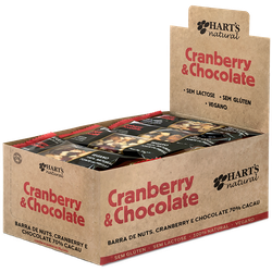 Display de Barra de Nuts Cranberry & Chocolate