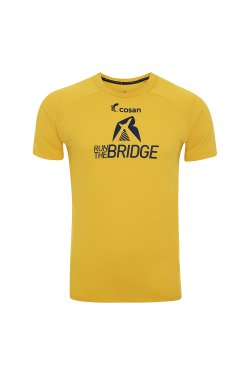 Camiseta Run The Bridge 2019 Masc Amarela