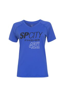 Camiseta SP City Finisher 42k Azul Fem