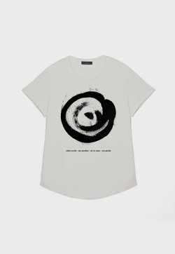 T-SHIRT OLHAR OFF WHITE