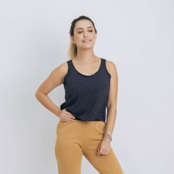 REGATA CROPPED - PRETO