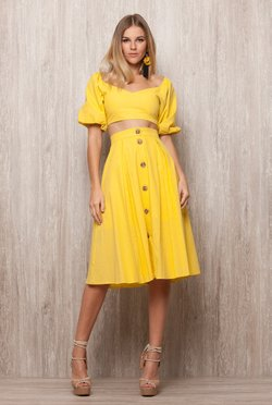 Saia Midi Yellow