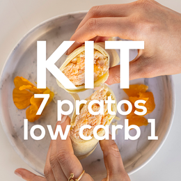 Kit 7 Pratos Low Carb 1