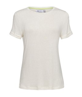 T-SHIRT GOLA CARECA LINHO - NATURE