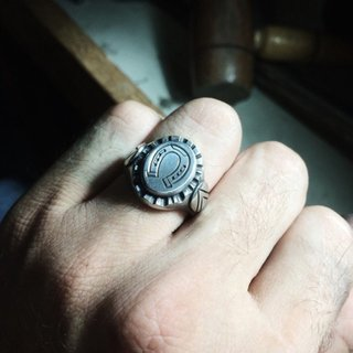 Anel – Lucky Horseshoe 100% Prata | Ring – Lucky Horseshoe 100% Silver