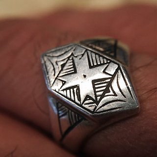 Anel - Bedouin 100% Prata | Ring – Bedouin 100% Silver