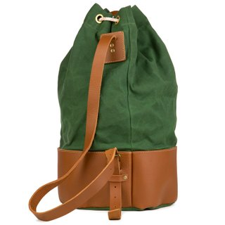 Duffel bag Verde - Cutterman + Liberty Art Brothers | Duffel bag Green - Cutterman + Liberty Art Brothers