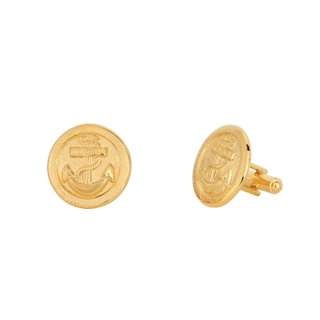 Abotoadura - Atlantic banhado a Ouro 18k | Cufflinks - Atlantic 18k gold plated