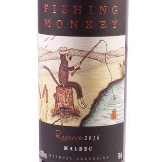 Vinho Fishing Monkey Reserve Malbec 750ml  | Vinho Fishing Monkey Reserve Malbec 750ml