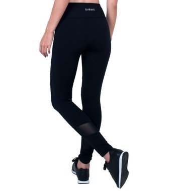 Legging Sprint Black Tulle