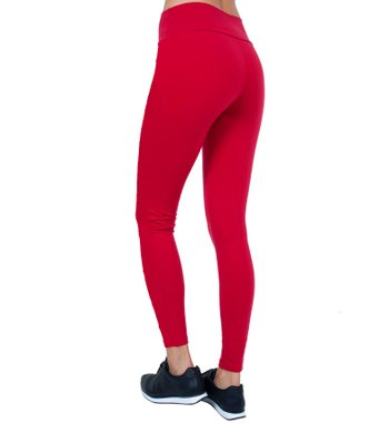 Legging Essencial Red Supplex
