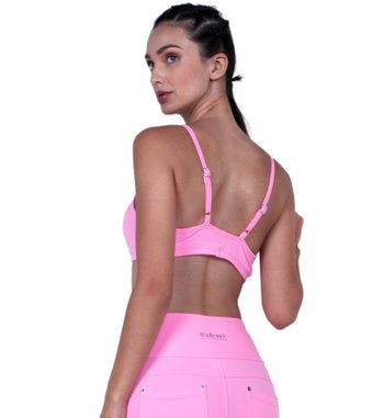 Top Fit Pink Supplex