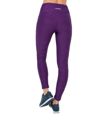 Legging Essencial Purple Jacquard