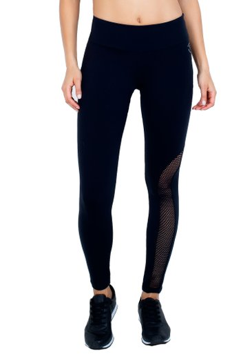 Legging Black Mesh Supplex