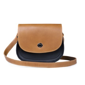 Bolsa SADDLE - Caramel / Black