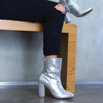Ankle Boot - Prata