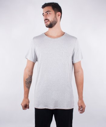 Camiseta Visco Air - Cinza