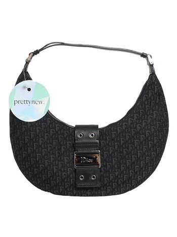 Bolsa Christian Dior Street Chic Hobo Black
