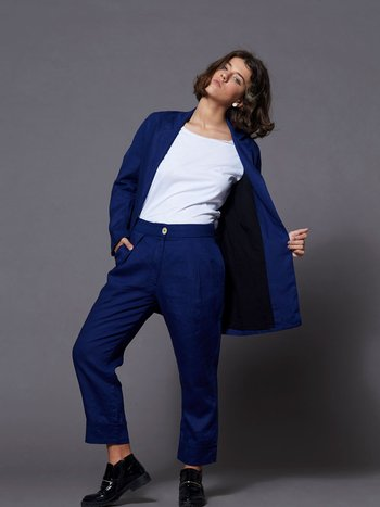 Blazer Oversized Blue