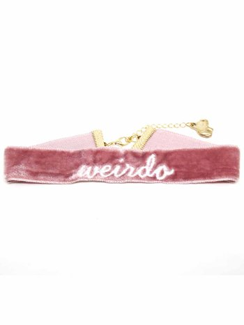 Chocker Número Collar Rosé Weirdo