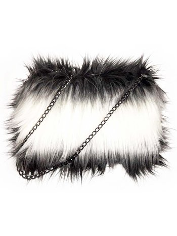 CLUTCH CRUELLA FAUX