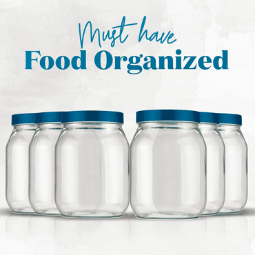 Combo Food Organized Must Have Azul