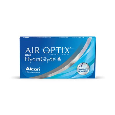 Lentes de Contato Air Optix plus HydraGlyde