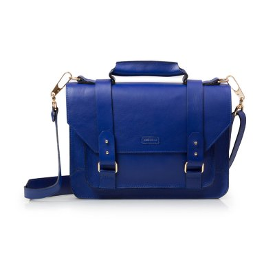 PASTA SATCHEL MÉDIA AZUL ROYAL