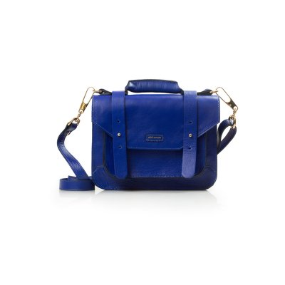 PASTA SATCHEL MINI AZUL ROYAL