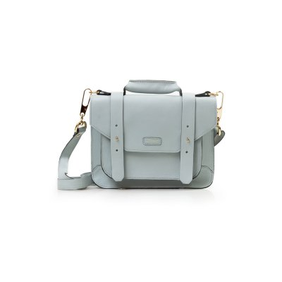 PASTA SATCHEL MINI AZUL ACQUA