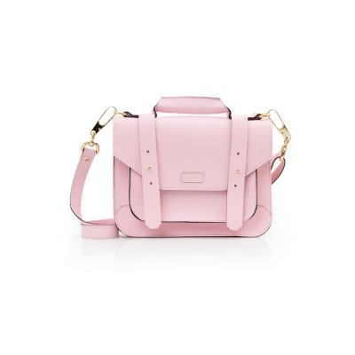 PASTA SATCHEL MINI ROSA CHICLETE