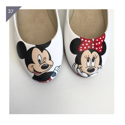 Sapatilha Mickey e Minnie