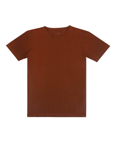 T-Shirt PIMA Piquet Terracota