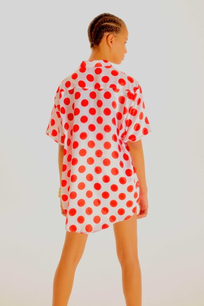 Blusa Gabe Red Dots