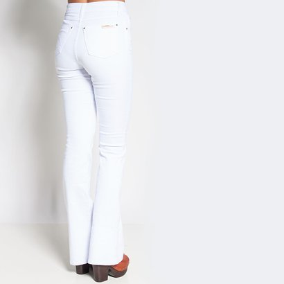 Jeans hot pant branco